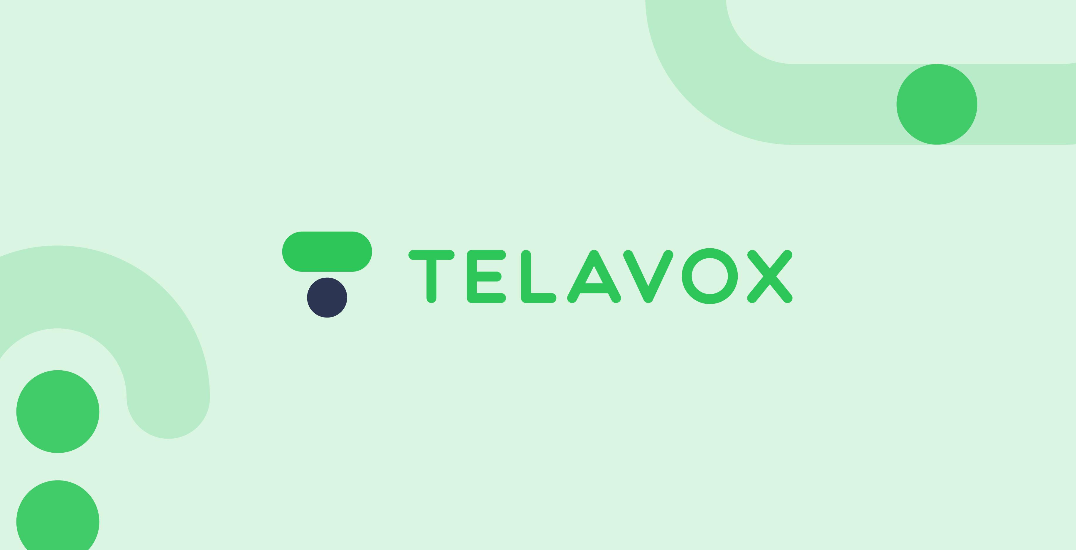 Telavox new logo